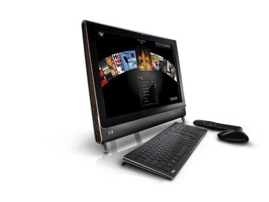 Beim Touchsmart-PC setzt HP auf ein neues Bedienkonzept.