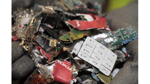 Handy-Recycling bei Nokia