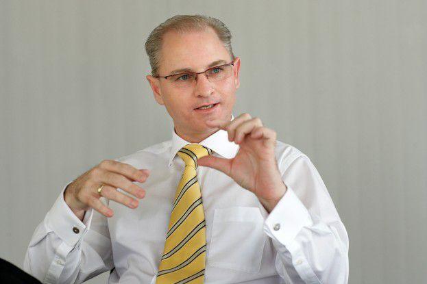 Rolf Unterberger, Siemens IT Solutions and Services: 'Es besteht ein Mangel an Projekt-Managern und Integrationsspezialisten.'