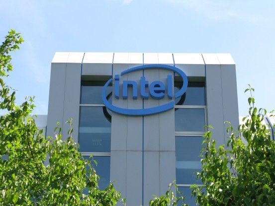 Intels Deutschlandzentrale in Feldkirchen bei München