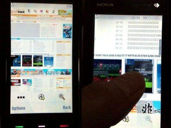 Diese Bilder zeigen angeblich das Nokia 5800 Tube.