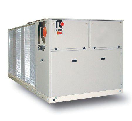 Free-Cooling-Kaltwassersätze bieten Einsparpotenziale immer dann, wenn Kaltwasser bei niedrigen Außenlufttemperaturen erzeugt werden muss.