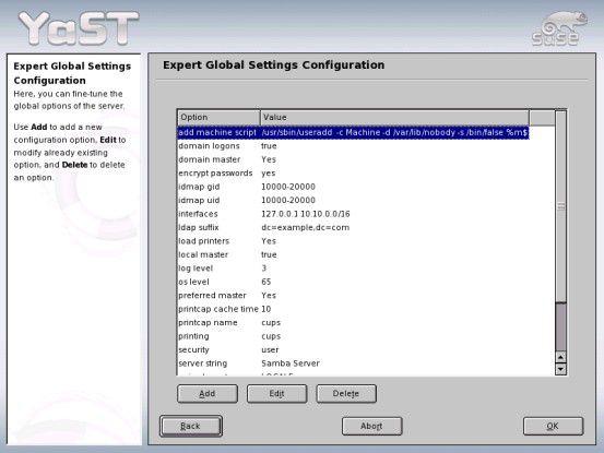 Der Suse Linux Enterprise Server wird komfortabel mit Yast2 installiert.