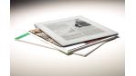 Auch für Dateien: Elektronische Zeitung im Großformat soll 2009 kommen