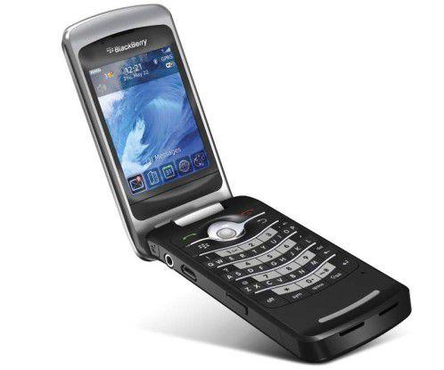 Schickes Erstlingswerk: Blackberry Pearl 8220