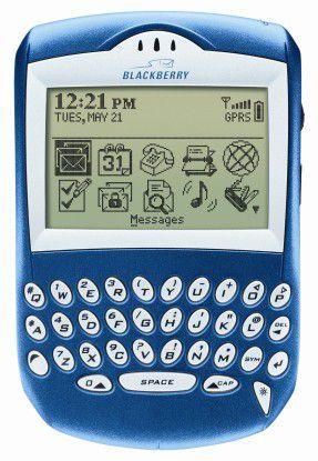 Von der unförmigen, zweckgebundenen Mail-Maschine entwickelten sich die Blackberrys…