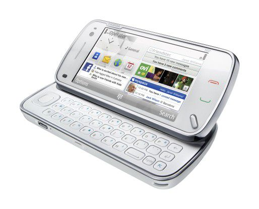 Nokia N97 - der vielseitige Sprinter unter den Mobiltelefonen.