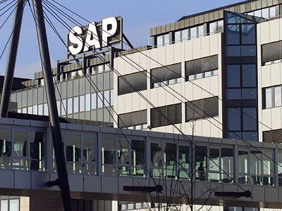 Die SAP-Zentrale in Walldorf bei Heidelberg