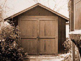 In dieser Garage in Palo Alto gründete nBill Hewlett und David Packard bereits 1939 die Firma Hewlett-Packard.