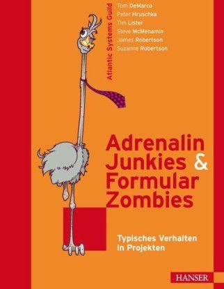 'Adrenalin-Junkies und Formular-Zombies' wirft einen Blick auf typische (Fehl-) Verhaltensmuster in Software-Projekten und gibt Tipps, wie sich diese im Team erfolgreicher gestalten lassen.