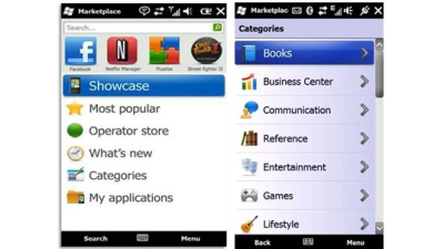 Windows Marketplace for Mobile: Online Shop öffnet Pforten für Windows Mobile 6.0 und 6.1 - Foto: Microsoft