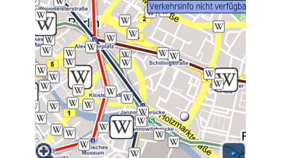 Layer und Latitude: Neue Google Maps für iPhone, Symbian und Windows Mobile