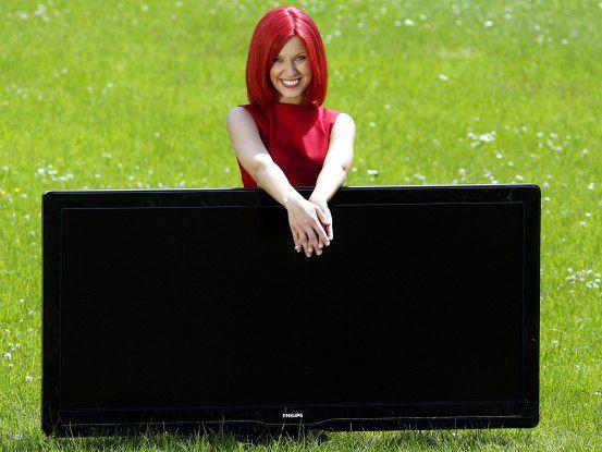 LCD-Fernseher auf der IFA: Darf's ein bisschen größer sein?