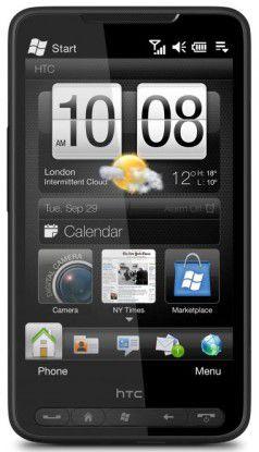 HTC HD 2: Der Smartphone-Gigant mit Multitouch und kapazitivem Display kommt Ende Oktober.
