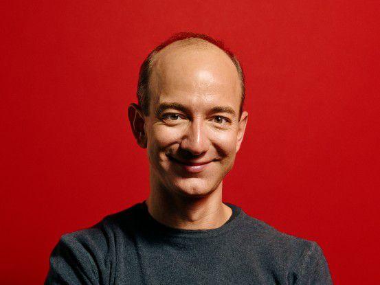 Hat mal wieder gut lachen: Amazon-CEO Jeff Bezos