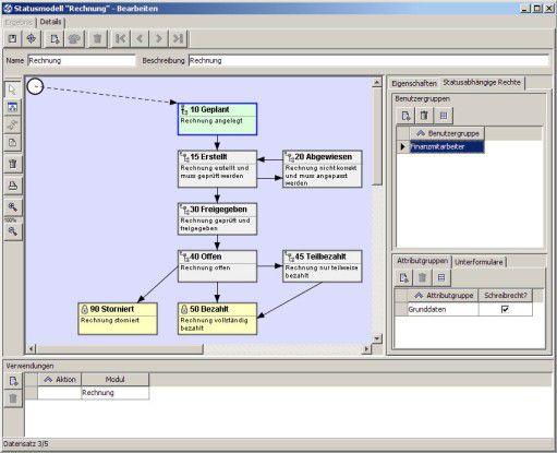 Mit Nucleus von Novabit können Anwender Prozesse individuell modellieren.