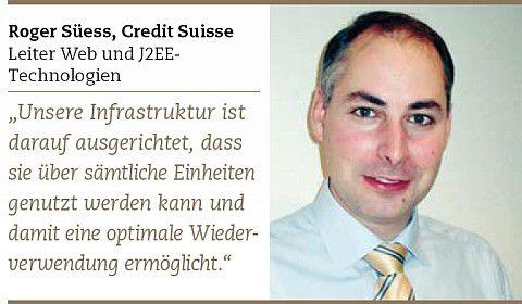 Roger Süess, Leiter Web und J2EE-Technologien.