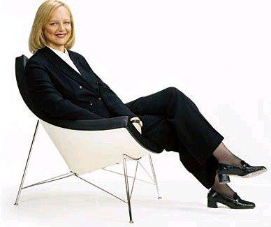HP-Chefin Meg Whitman war zunächst gegen eine Spaltung, jetzt ist sie dafür.