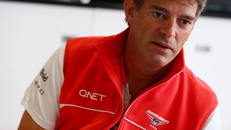 Graeme Lowden, President & Sporting Director des englisch-russischen Formel-1-Teams Marussia.