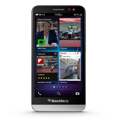 Neues Smartphone mit 5-Zoll-Display: Blackberry Z30