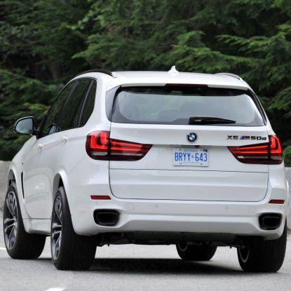 Länge: 4,88 m, Breite: 2,18 m, Höhe: 1,76 m: Das sind die Abmessungen des aktuellen BMW X5. Bei dieser Größe wird es mit diesem SUV in so manchem deutschen Parkhaus zu eng.