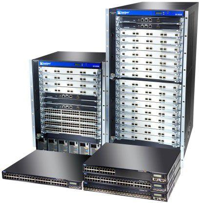 Künftig auch Teil von Dells PowerConnect-Marke: Ethernet-Switches der EX-Serie von Juniper.