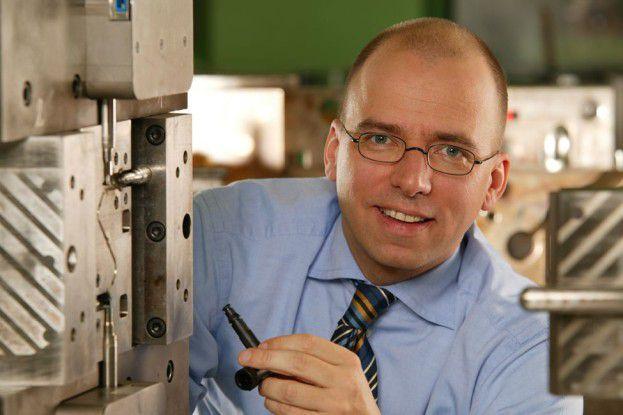 Frank Ferchau ist jeden Tag zehn bis 15 Stunden für sein Unternehmen unterwegs.