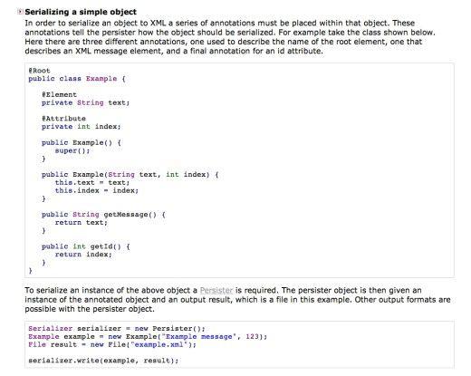 Beispiele fr die XML-Serialisierung