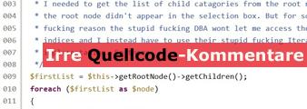 Quellcode-Kommentare